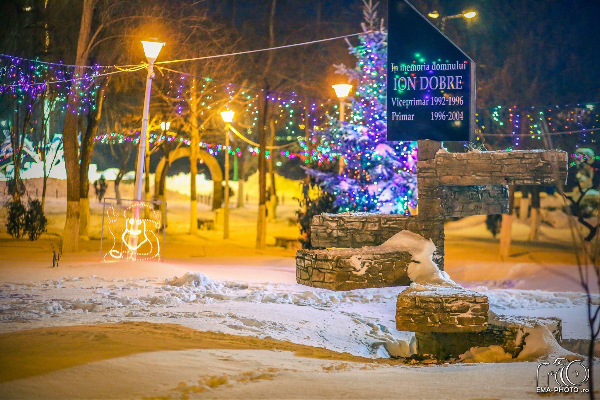 Năvodari, peisaje de iarnă