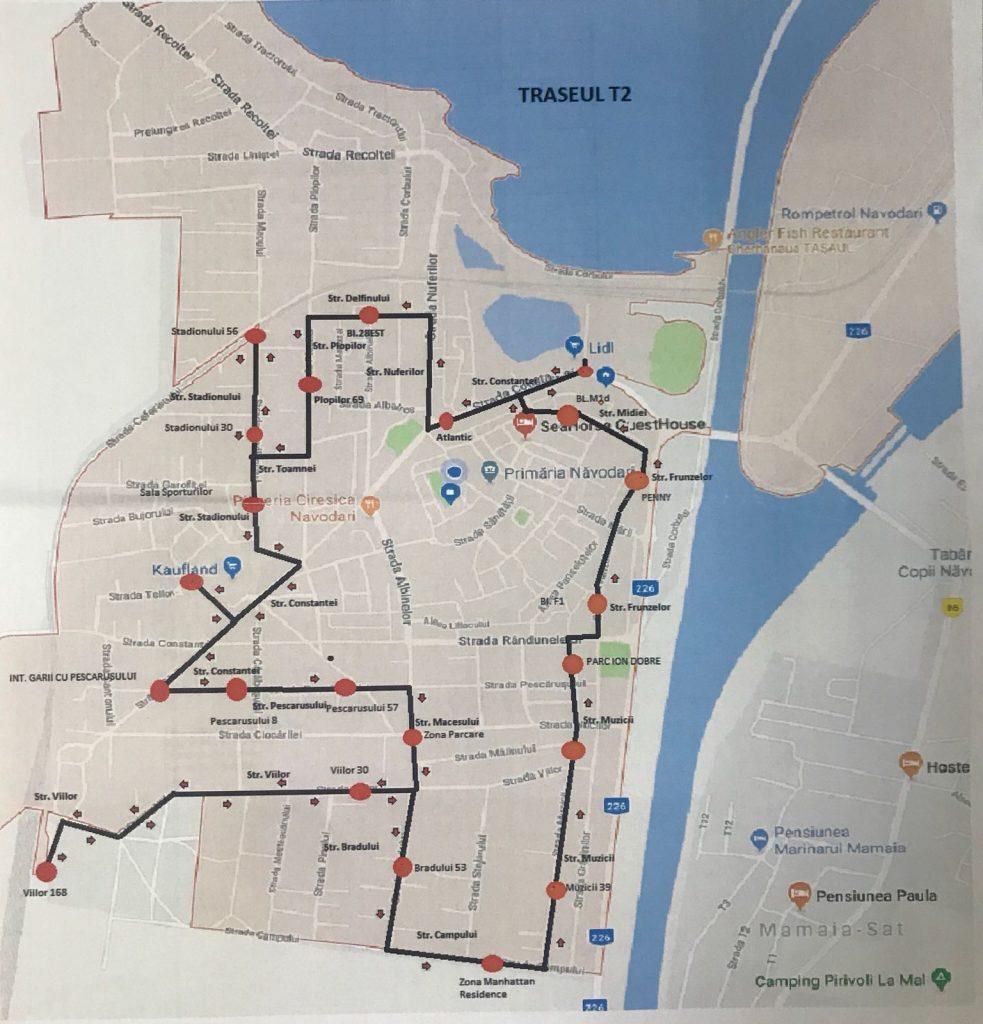transport public navodari traseu 2