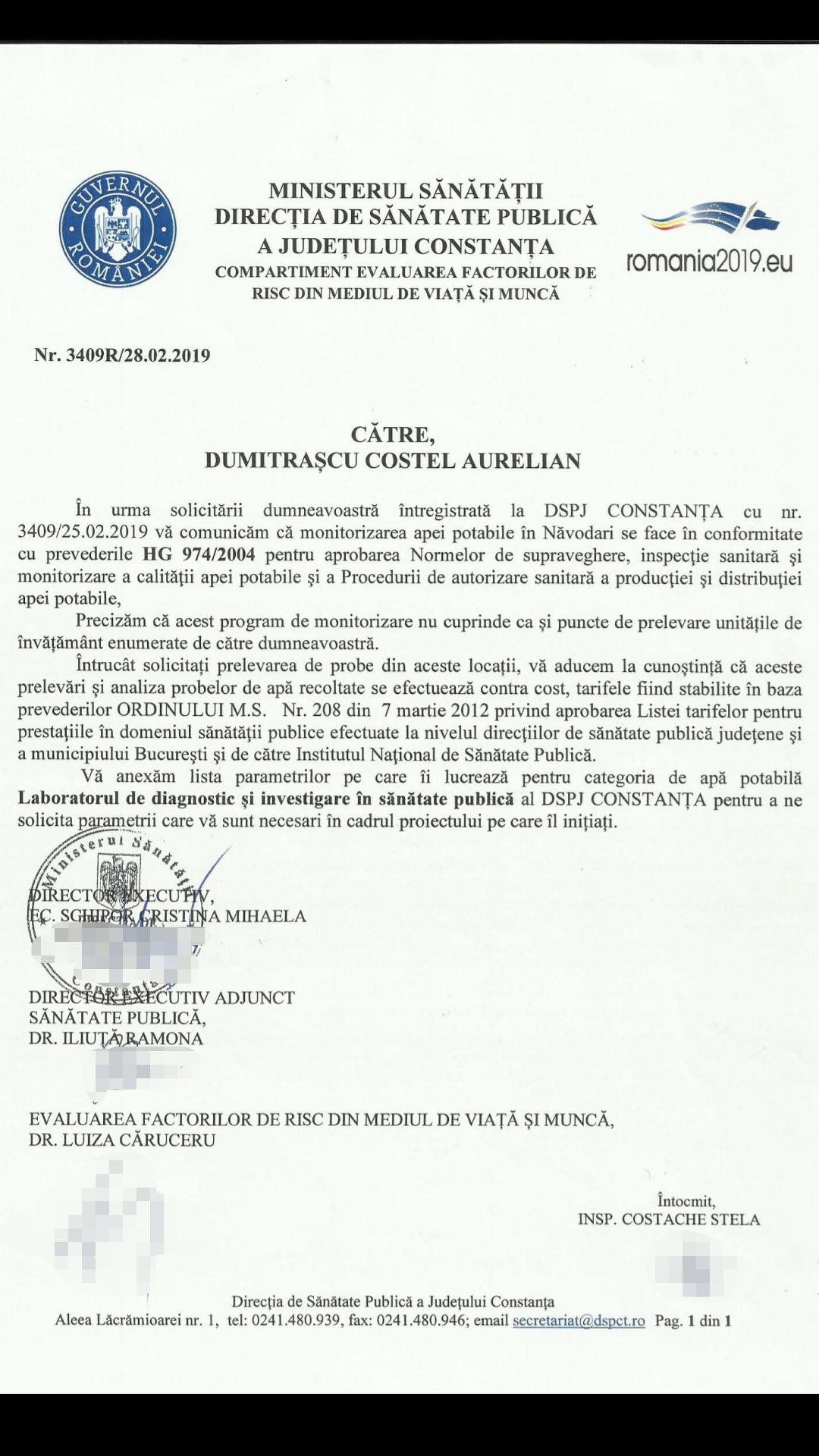 Adresa DSPCT dumitrascu costel navodari