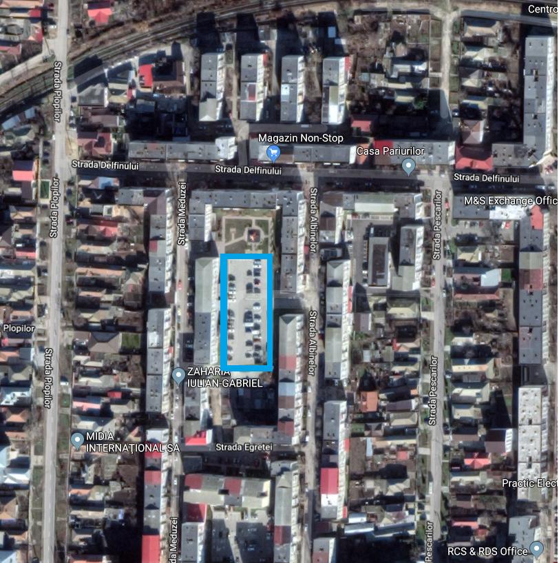 Proiect privind parcările supraetajate în Năvodari
